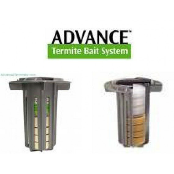 40 Advance Termite Control Bait & Monitoring Stations ~ No Bait or Spider Tool