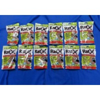 12 RatX Rodent Bait For Rats and Mice Granule 8 oz.
